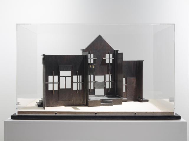 Nathan Coley, 'Palace (Model)', 2015, Sculpture, Painted wood, Parafin