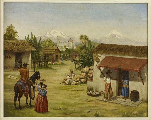 , 'untitled,' XIX century, Diptych Fine Arts