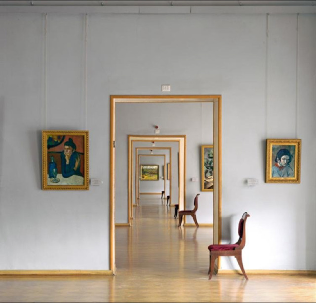 , 'Room 348 (Square), Hermitage, St. Petersburg, Russia,' 2002, Yancey Richardson Gallery