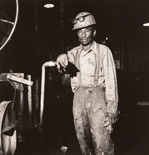 ", 'Untitled, from the series, ""Working People: Amherst Foundry"",' 1979, San Jose Museum of Art"