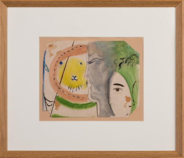 """, '""""Lion"""",' ca. 1950, Galerie Dutko"""