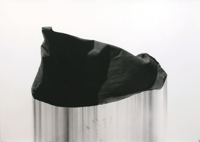 , 'Charcoal Flag XL,' 2012, David B. Smith Gallery