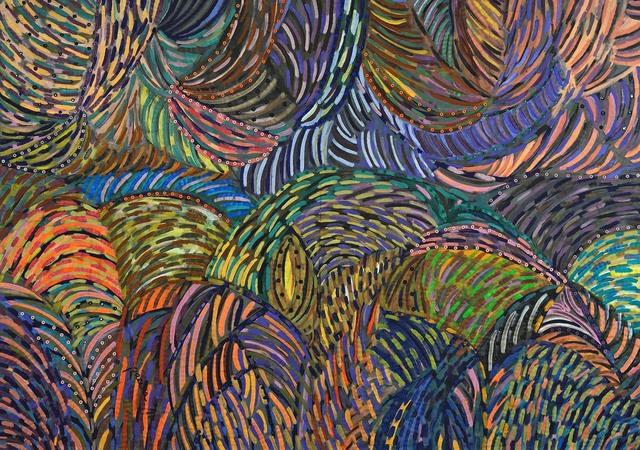 , 'Day dream,' 1988, Pacita Abad Art Estate