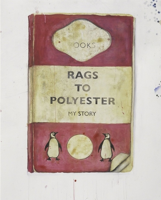Harland Miller, 'Rags To Polyester', 2017, Maddox Gallery