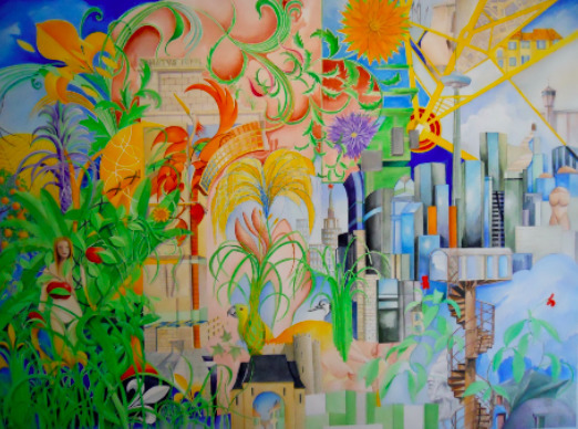Patrick Faure, 'Eve in a Garden ', Painting, Watercolor on paper, Saphira & Ventura Gallery