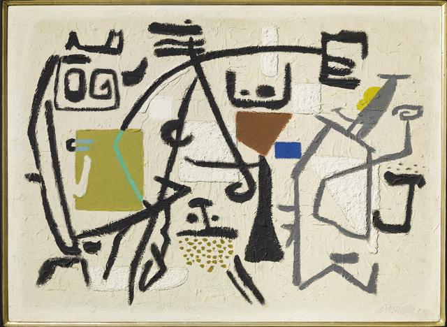 , 'Linien - Flächen - Aktion,' 1950, Galerie Klaus Gerrit Friese