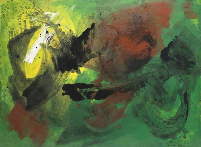 Gérard Schneider, 'Untitled', 1968, Painting, Oil on canvas, Gallery Diane de Polignac
