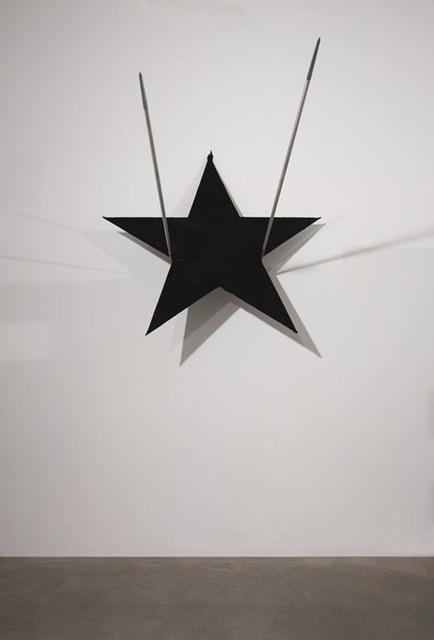 , 'Stella di cuoio su giavelotti,' 2007, Lia Rumma