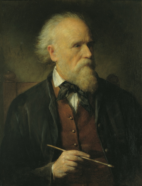 , 'Self-Portrait,' 1875, Belvedere Museum