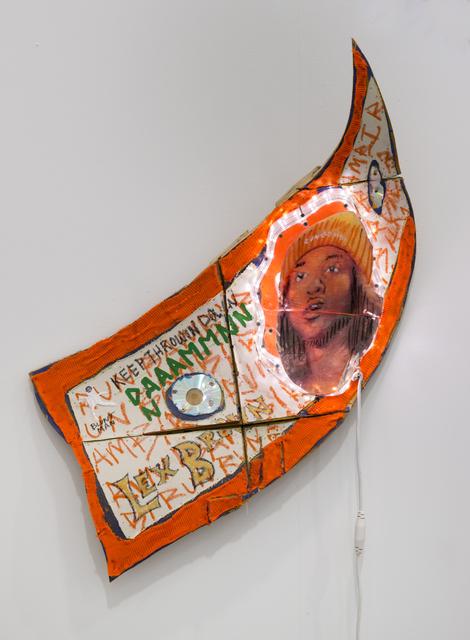 , 'Lex Brown $,' 2016, Diane Rosenstein