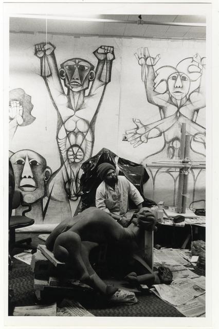 , 'Dumile Feni's Studio, New York,' 1982, Gallery MOMO