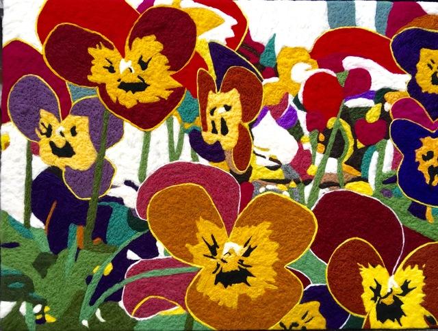 , 'Flowers,' 2016, Galleri Franz Pedersen