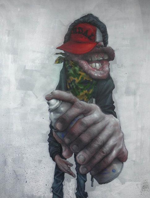 , 'URBAN KONTORTION #09,' 2014, BC Gallery