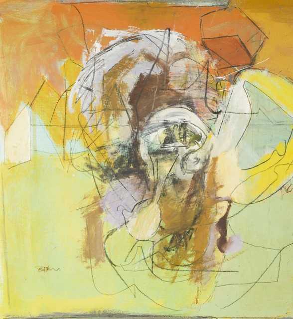 , 'Abstract in Green, Blue and Orange,' ca. 1958, Childs Gallery