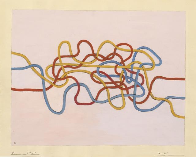 Anni Albers, 'Knot 2', 1947, ICA Boston