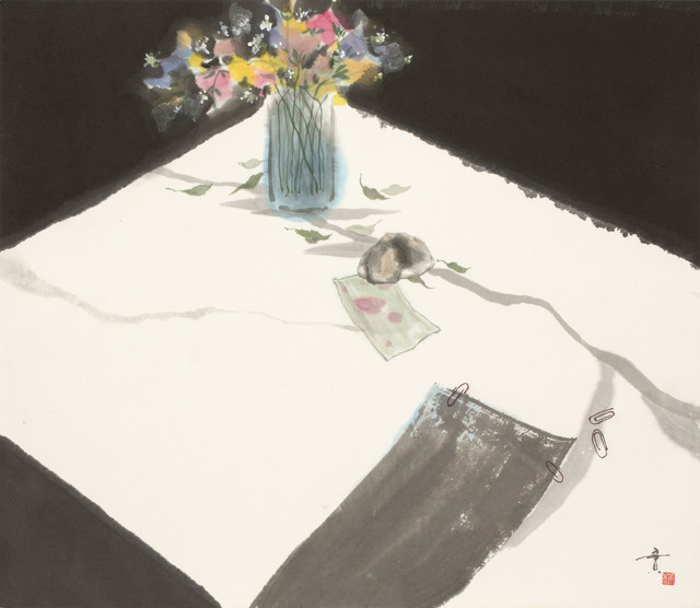 , 'Desk with Flowers (MA-293),' 1977, Erik Thomsen