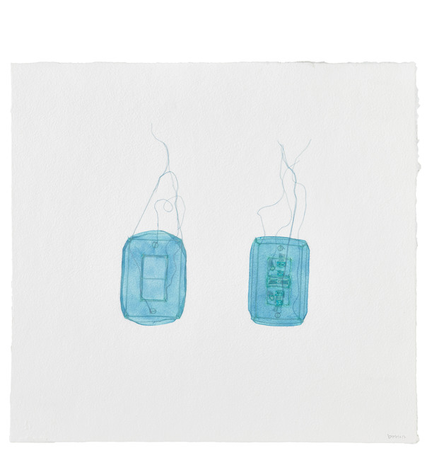 Do Ho Suh, 'Light Switch and Electricity Outlet, 348 West 22nd Street, Apartment A, New York, NY 10011, USA', 2017, STPI