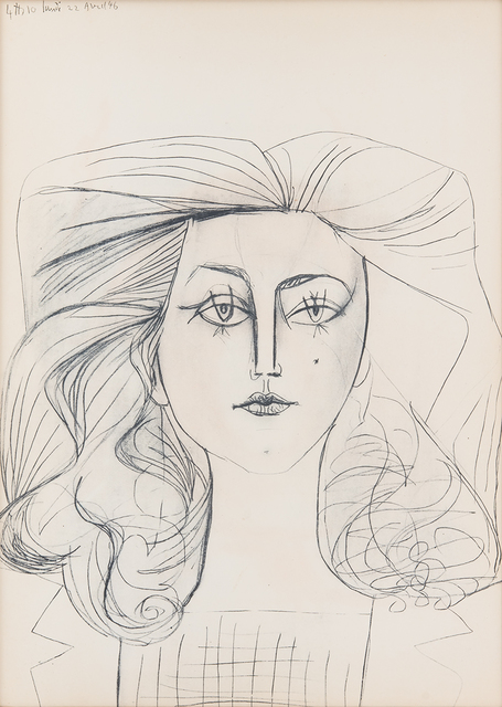 Pablo Picasso, 'Francois Gilot', 1954, Odon Wagner Gallery