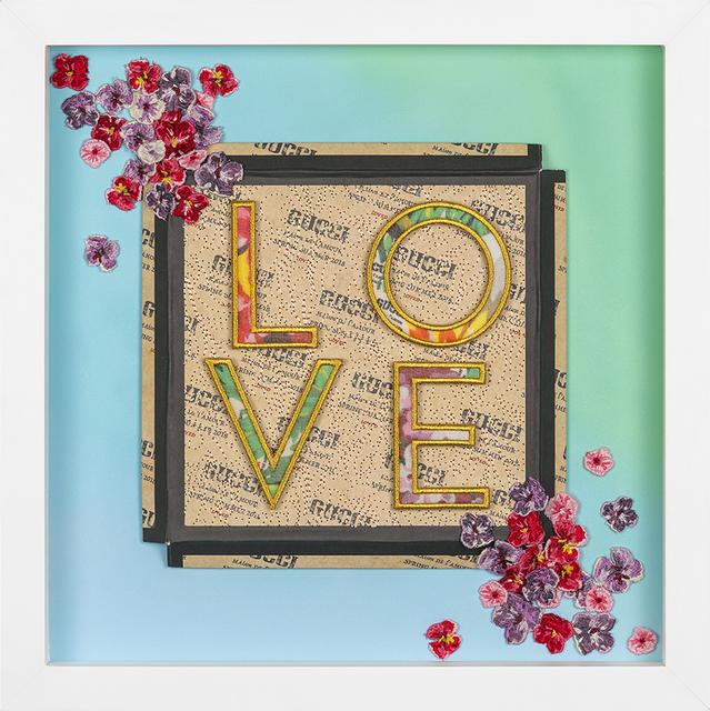 , 'Baybreeze LOVE,' 2018, Roman Fine Art