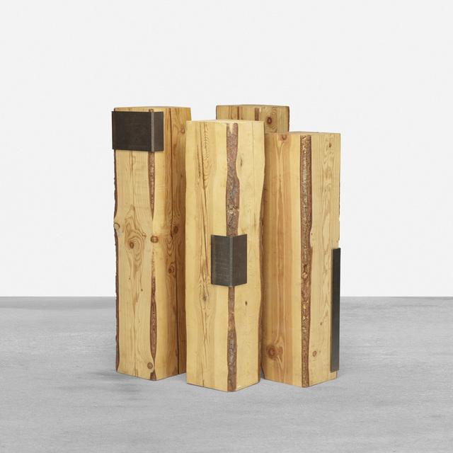 Elizabeth Garouste and Mattia Bonetti, 'pedestals, set of four', c. 2000, Wright