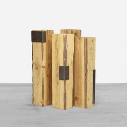 pedestals, set of four