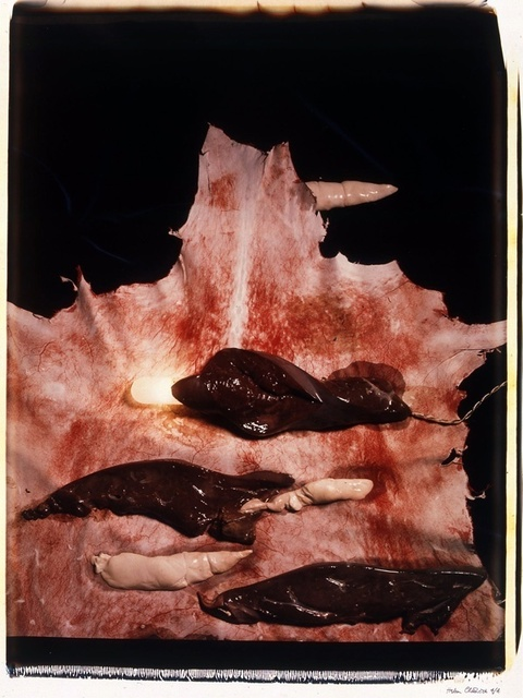 , 'Meat Abstract No. 3: Liver,' 1989, Richard Saltoun