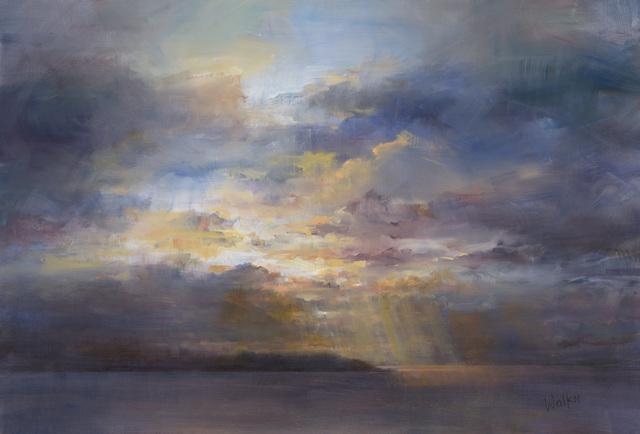 , 'Headland, Evening Sky,' 2017, Thackeray Gallery