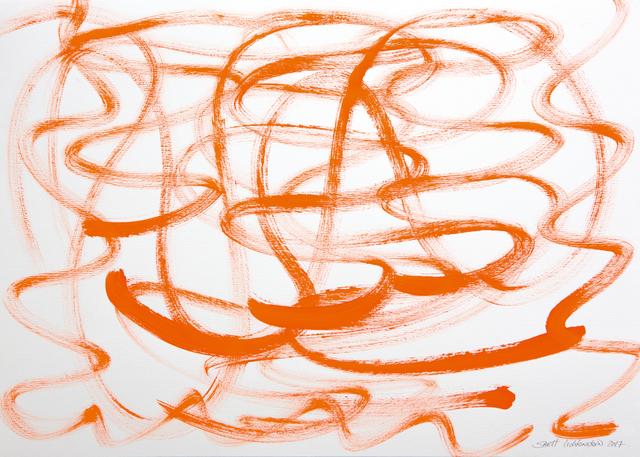 Sarit Lichtenstein, 'Orange', 2017, Galerie AM PARK
