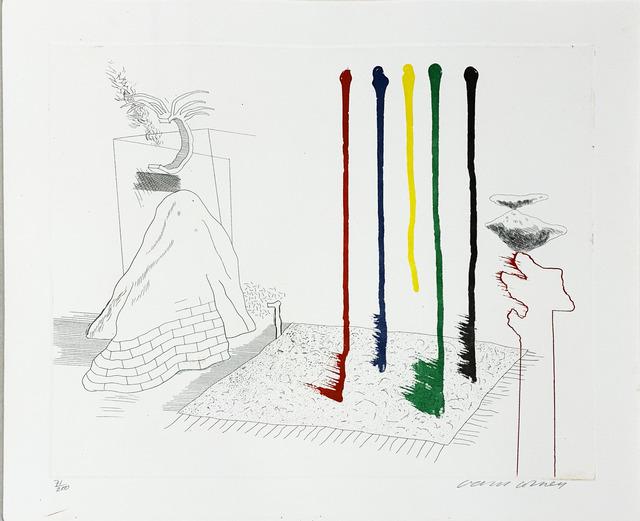 David Hockney, ' I say they are', 1976-1977, Fairhead Fine Art Limited