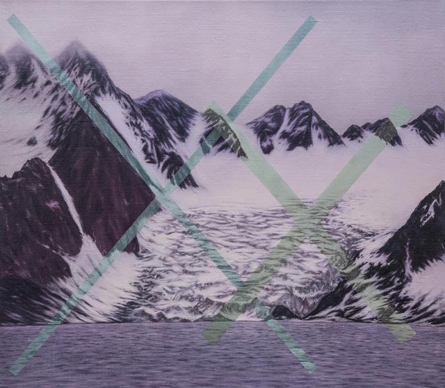 , 'magenta glacier Xx,' 2017, Ro2 Art