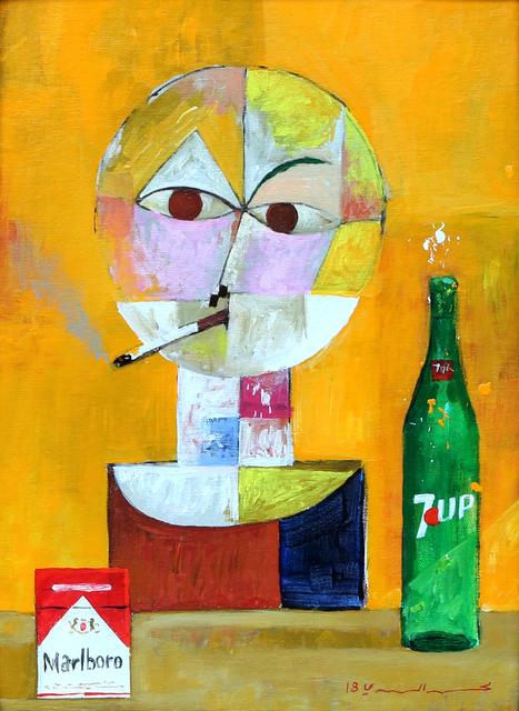, 'Drink and Smoke,' 2018, Albareh Art Gallery