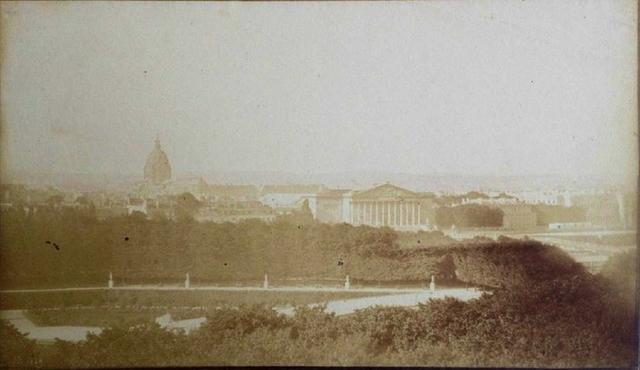 Hippolyte Bayard, 'Le jardin des Tuileries, Paris', 1849, James Hyman Gallery