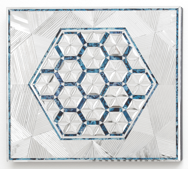 , 'Variation of Hexagon,' 2013, Haines Gallery