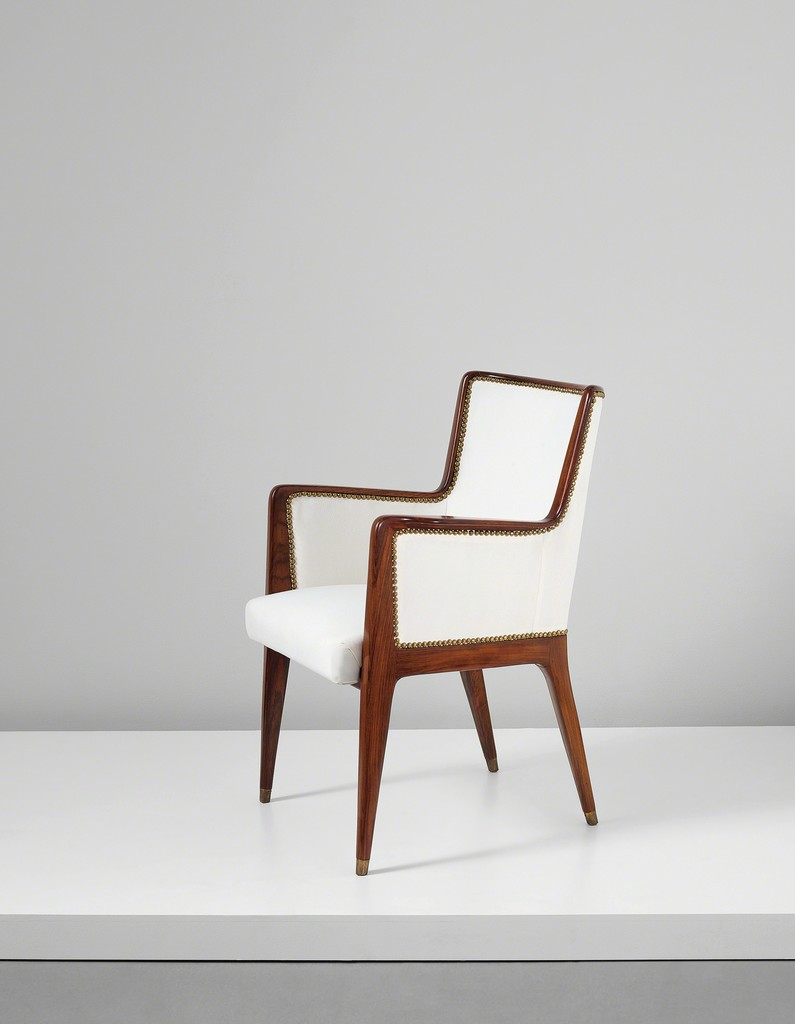 firstclass modern armchair. Gio Ponti  Armchair model no 504 designed for the First Class