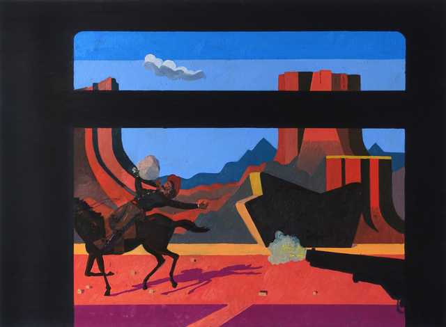 , 'Train Robbery Scene 4  ,' 2017, Visions West Contemporary