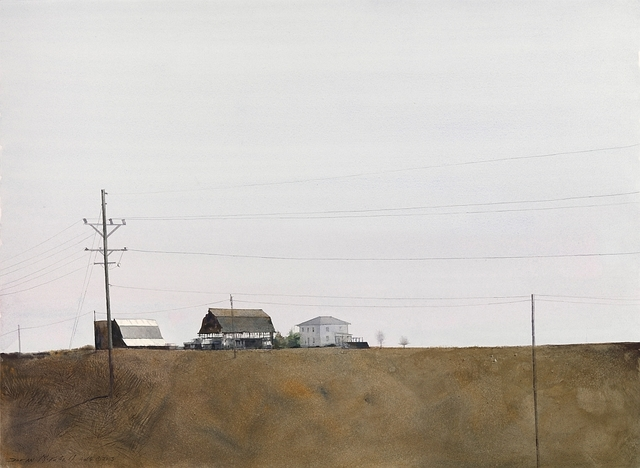 , 'Midwest Power Lines,' 2015, Cutter & Cutter Fine Art