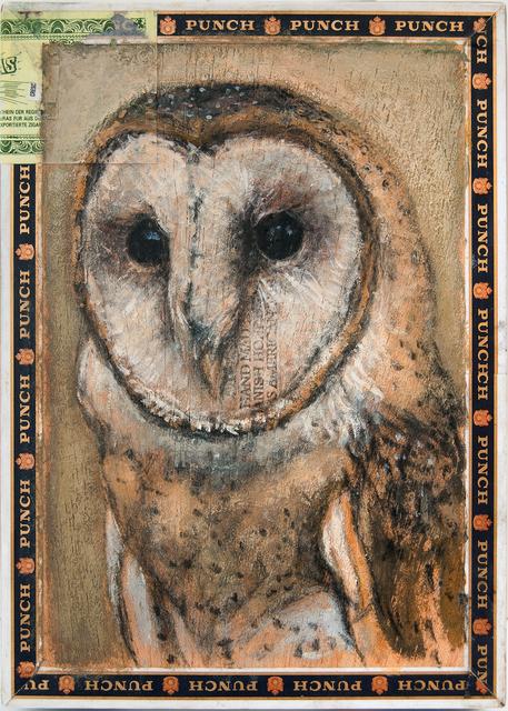, 'Barn Owl / Punch,' 2014, Paul Thiebaud Gallery