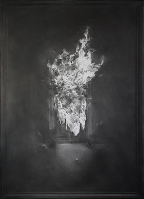 , 'Untitled (Burning Door),' 2015, Foley Gallery