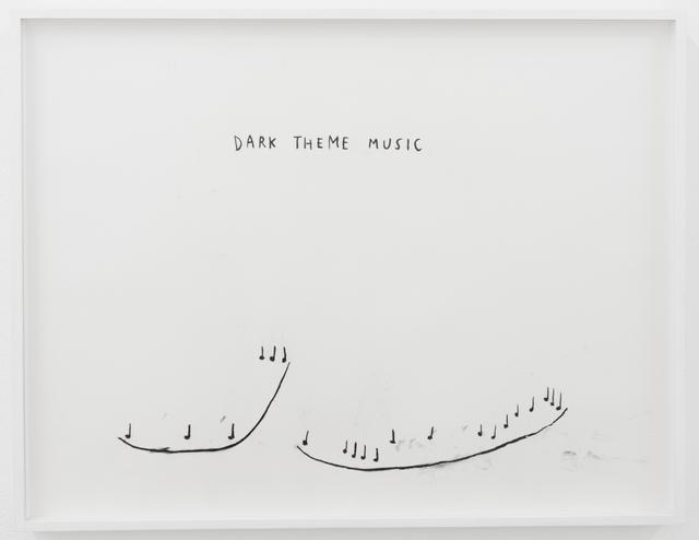 , 'Dark Theme Music,' 2016, François Ghebaly