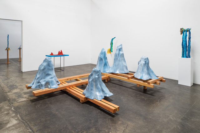 , 'The Etiquette of Mountains,' 2014, Rosamund Felsen Gallery