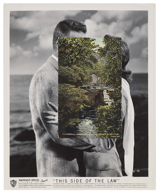 John Stezaker, 'Kiss XV', 2015, Drawing, Collage or other Work on Paper, Collage, Monica De Cardenas