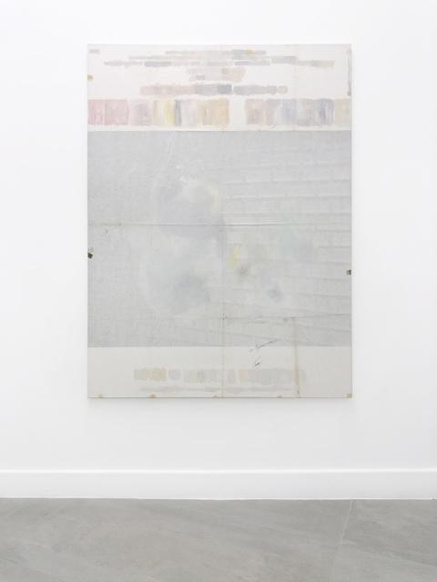 Benoit Platéus, 'L'homme blessé', 2015, Painting, Acrylic on movie poster mounted on canvas, Barbé Urbain Gallery