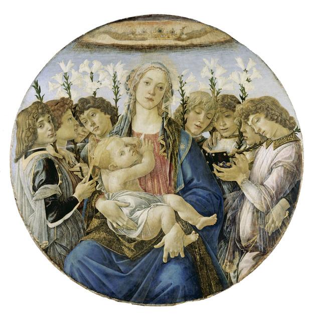 , 'Tondo Raczynski,' 1477, Gemäldegalerie Alte Meister