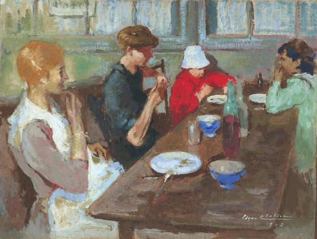 Edgar Chahine, 'Petit Dejeuner', 1942, Armstrong Fine Art