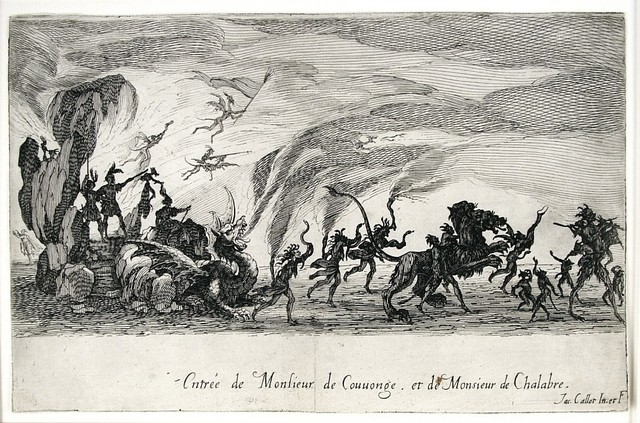 , 'Le Combat a La Barriere (The Combat at the Barrier),' 1627, Harris Schrank Fine Prints