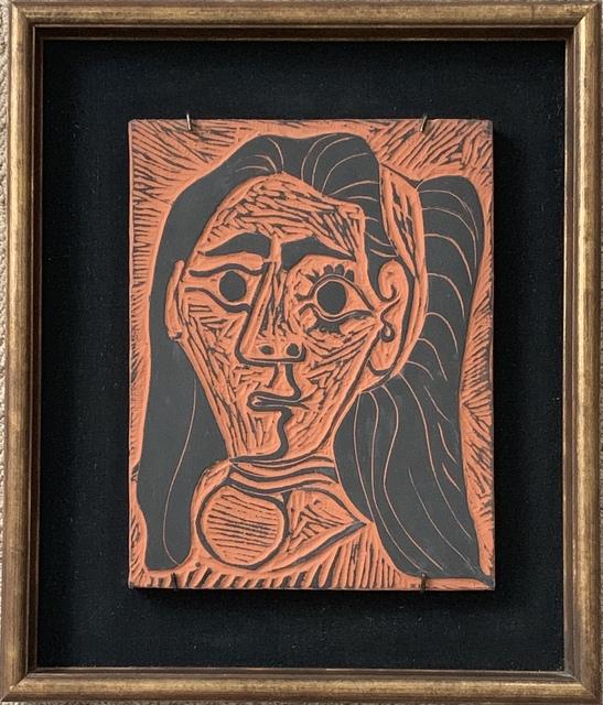 Pablo Picasso, 'Femme au Cheveux Flous (Fluffy-haried Woman)', 1964, Puccio Fine Art