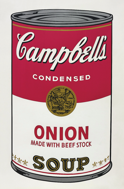 Andy Warhol, 'Onion Soup, from Campbell's Soup I', 1968, Phillips