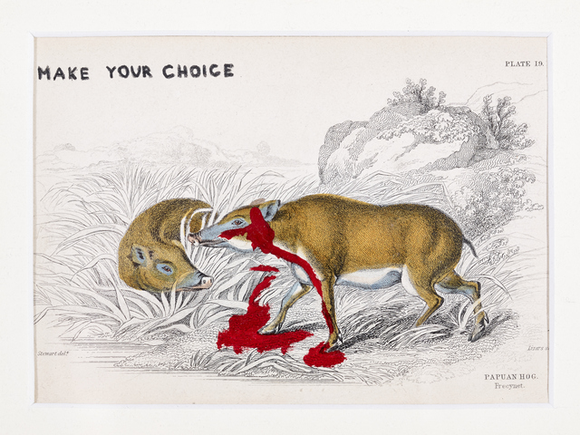 , 'Make your choice now,' , Galerie Heike Strelow