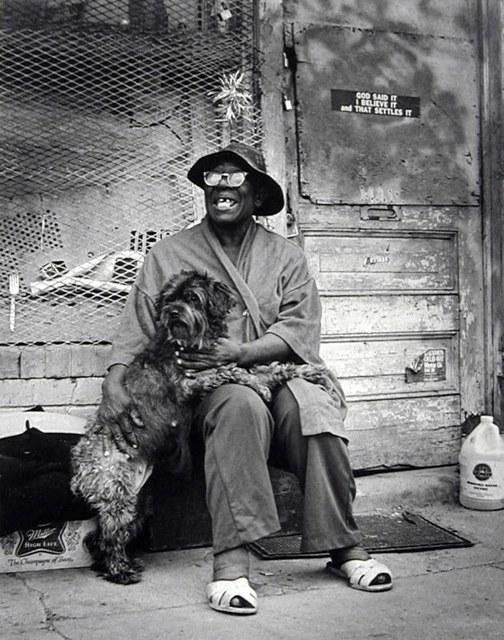 Earlie Hudnall, Jr., 'The Prophet, 3rd Ward, Houston', 1980, PDNB Gallery
