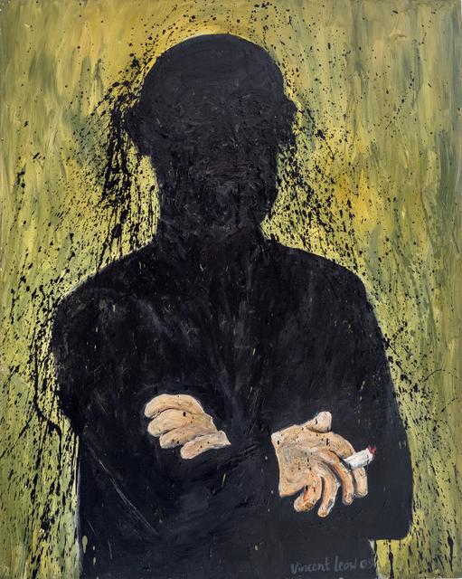 , 'Portrait with Cigarette,' 2009, iPreciation